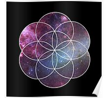 Cosmic Seed of Life Poster