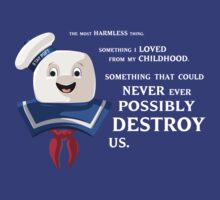 Ghostbusters | Mr. Stay Puft | Could Never Ever Possibly Destroy Us by rydrew