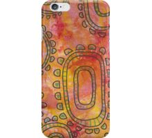Rosy Portal Flowers iPhone Case/Skin