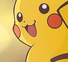 Pokémon PIKACHU Sunset Shirt / iPhone Case by Daniel J. Carville