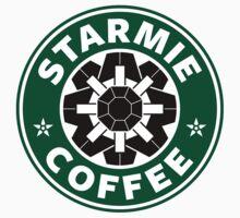Starmie Coffee - Pokemon Starbucks (black) by TheBlueOwl