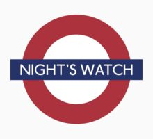 Game of Thrones Nights watch tube stop by monsterplanet
