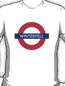 Game of Thrones Winterfell tube stop T-Shirt