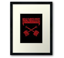 Marceline and the Scream Queens Framed Print