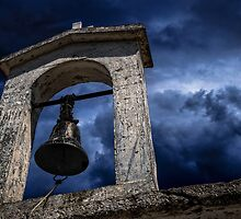Ancient church bell by mellosphoto