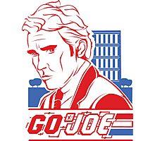 Go Joe (Macmillan) T-Shirt Photographic Print