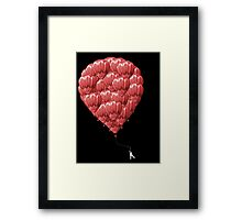 99 Red Balloons Framed Print