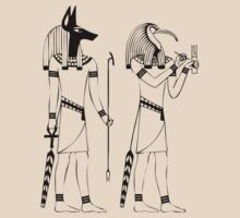 Egyptian Gods by mamisarah