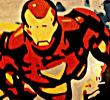 Iron Man in Flight by Matthew Colebourn
