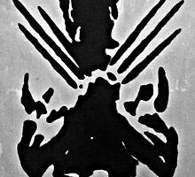 Wolverine Silhouette  by Matthew Colebourn