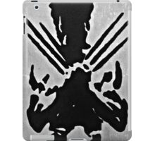 Wolverine Silhouette  iPad Case/Skin