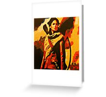 Katniss Everdeen from The Hunger Games Greeting Card