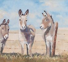 Three Amigos by Wendy Marquis