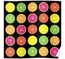 Citrus burst Poster