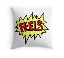 FEELS Throw Pillow