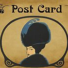 Post Card - Vintage lady by © Kira Bodensted