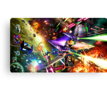 The Starfox Universe: At War Canvas Print