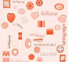 Orange Lollipop by 2HivelysArt