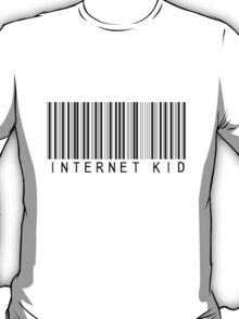 """Internet Kid"" Barcode T-Shirt"