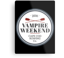 Vampire Weekend // Cape cod rowing Metal Print