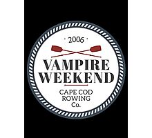 Vampire Weekend // Cape cod rowing Photographic Print