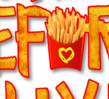 Fryborn Sticker