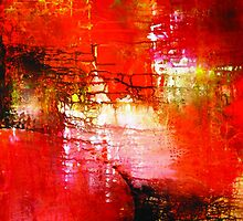 ABSTRACT IN RED by kasiunia