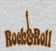 This is Rock 'n Roll with Guitar Retro by sastrod8