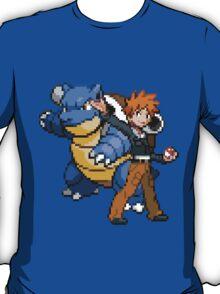 Blue and Blastoise T-Shirt