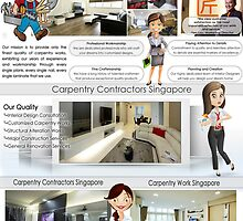 Carpentry Services Singapore by DesignSingapor