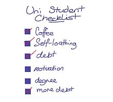 Uni Student Checklist by bee13