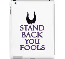 stand back iPad Case/Skin