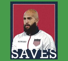 Tim Howard Saves Kids Clothes