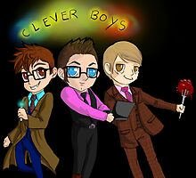 Three Clever Boys by Furiarossa