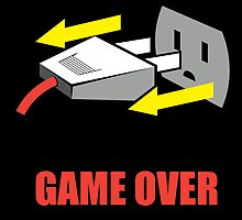 Game Over by tshirtbaba