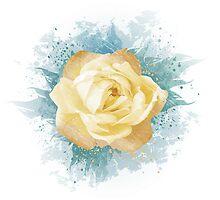 Yellow Rose by Olga Altunina