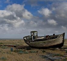 Broken down old fishing boat by Paul Fleet