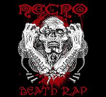 Necro Death Rap Tshirt by tuyul
