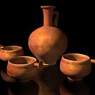 Ancient Roman Pottery by Paul Fleet