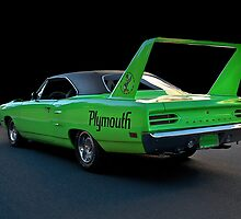1970 Plymouth Road Runner Superbird 2 by DaveKoontz