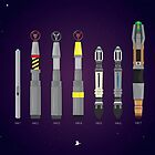Sonic Screwdriver collection by David Wildish