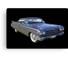 1960 Cadillac Luxury Car Canvas Print