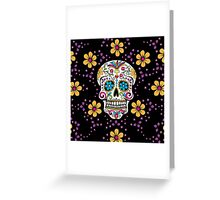 Sugar Skull Halloween, Day Of The Day Greeting Card