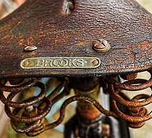Vintage saddle by Beverley Goodwin
