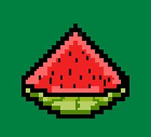 Pixel Watermelon by CyanAlpaca