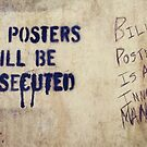 Bill Posters (is an innocent man) by PJ Ryan