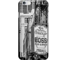 chicago boss iPhone Case/Skin