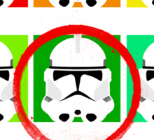 Clone emotions Sticker