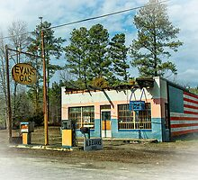 Evans Gas by Lenore Locken