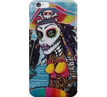 Pirate Girl - Surfs Up iPhone Case/Skin